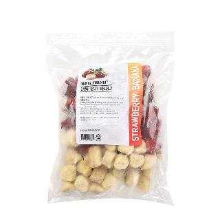 [슈퍼마트] 냉동 딸기바나나 1kg