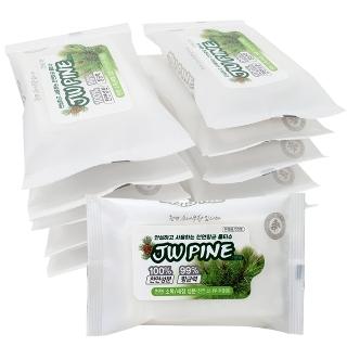 [티몬데이] 타임어택 99% 살균 소나무 피톤치드 물티슈20매 x 10팩 외
