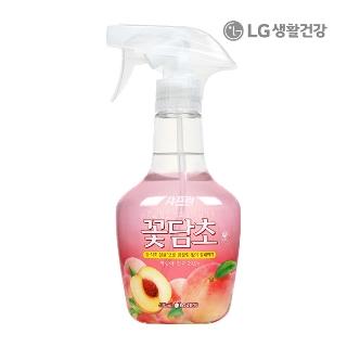[슈퍼마트]샤프란 꽃담초 복숭아 400ml