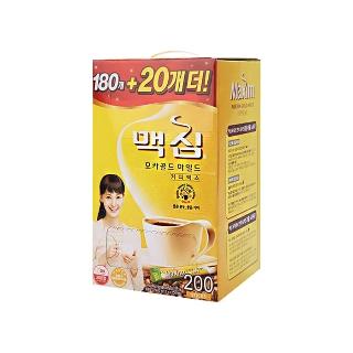 [대용량] 맥심 모카골드 커피믹스 180T+20T×4개×1박스