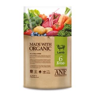 [슈퍼마트] ANF 유기농 6Free 양고기 전연령 강아지 2kg