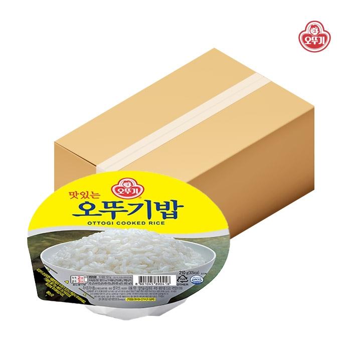 오뚜기 맛있는 오뚜기밥, 210g, 24개