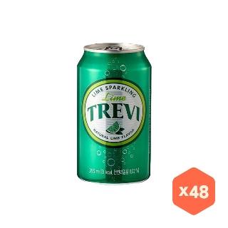 [대용량] 트레비 라임 캔 355mlX24캔X4박스