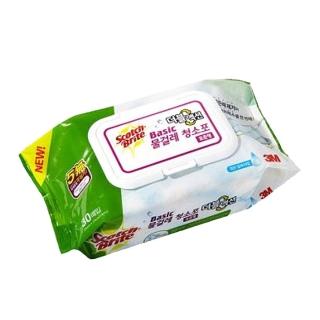[슈퍼마트] 3M 베이직 물걸레 청소포 더블액션 표준형 30매