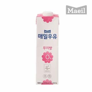 [슈퍼마트] 매일 무지방 0% 우유 900ml