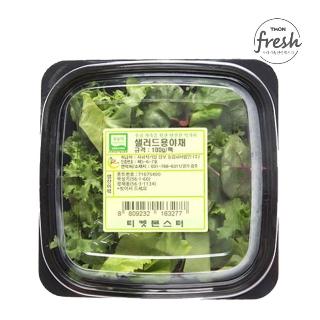 [슈퍼마트] 친환경 한끼샐러드 채소 50g