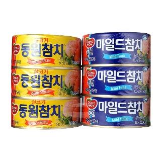 [슈퍼마트]동원참치3+마일드참치3