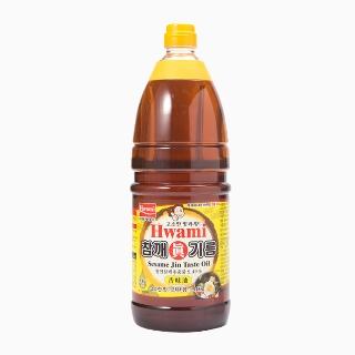 [슈퍼마트]화미 참깨진기름(眞) 1.8L