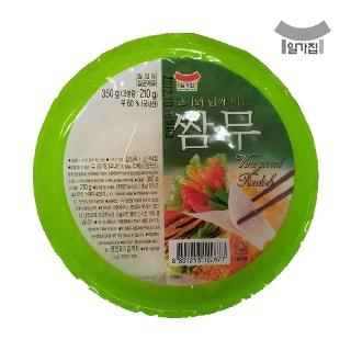 [슈퍼마트] 일가집 고기와 함께 먹는 쌈무 350g