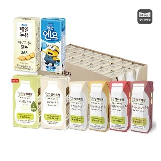 [퍼스트위크] 히트상품 매일유업 상하목장 유기농우유 125ml 흰우유 48팩 외 19종