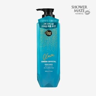 [슈퍼마트] 샤워메이트 글램퍼퓸로션 그린크리스탈 400g