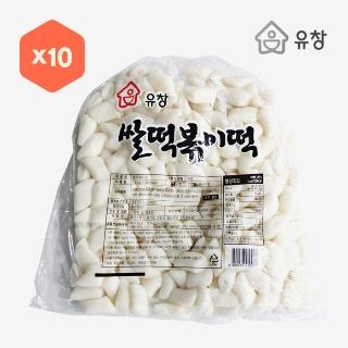 [대용량]유창 쌀떡볶이떡(구멍떡) 1.5kg*×10입