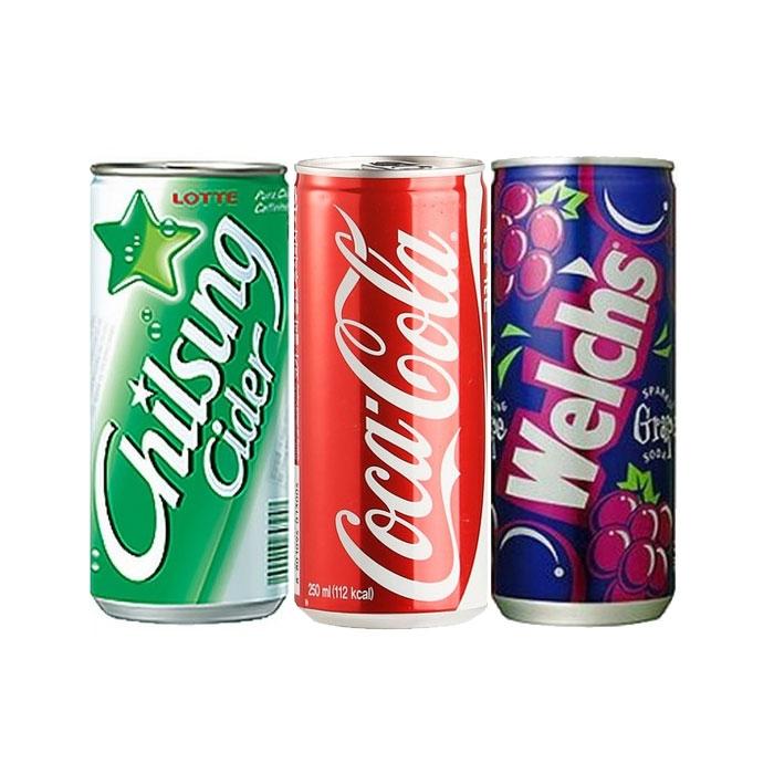 [칠성사이다] 코카콜라250ml / 웰치스포도250ml 외 음료모음