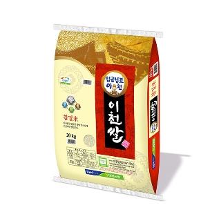 [슈퍼마트] 대월농협 임금님표 이천쌀 20kg