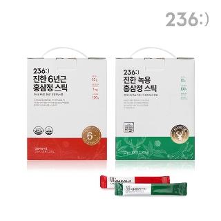 236:) 진한 6년근 홍삼정/녹용홍삼정 스틱 100포