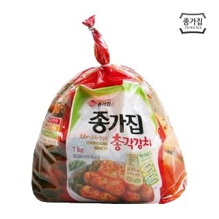 [슈퍼마트] 종가집 투명 총각김치 1kg