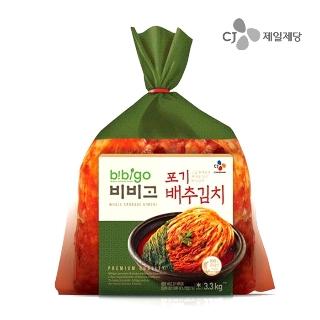 [슈퍼마트] CJ 비비고 포기배추김치 3.3kg