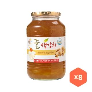 [대용량]꽃샘 꿀생강차 1kg×8입