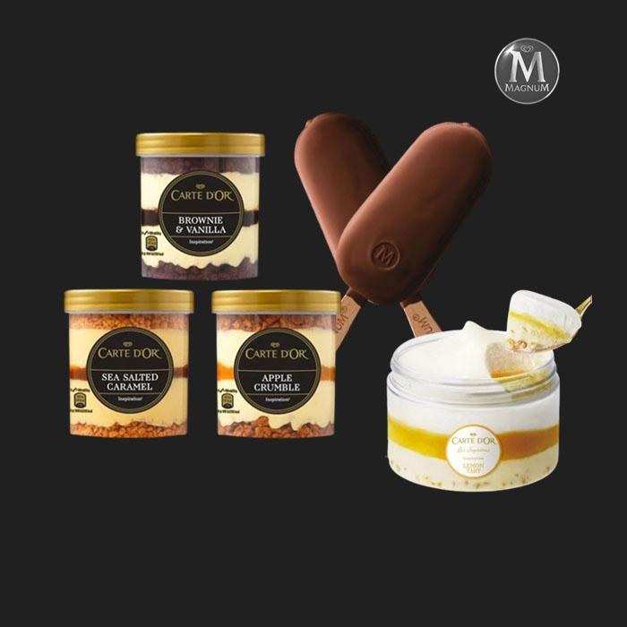 [쿠폰위크] 티몬블랙딜 유니레버 매그넘 까떼도르 프리미엄 아이스크림 최대 34개 구성