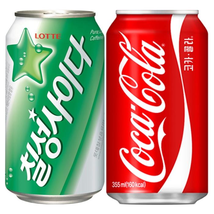 [코카콜라] 암바사 355ml 24캔 외 뚱캔 31종모음