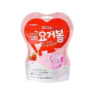 [슈퍼마트] 후디스 냠냠 그릭요거볼 딸기 20g (1입/10입)