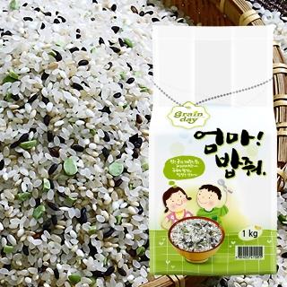 [무료배송] 5곡 담은쌀 3kg(1kg x 3개)