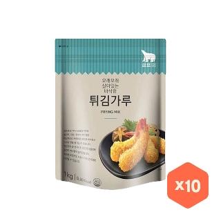 [대용량] 곰표 튀김 튀김가루 X 1kg X 10입 X 3박스