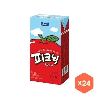 [슈퍼마트] 매일유업 피크닉 사과 200ml*24팩