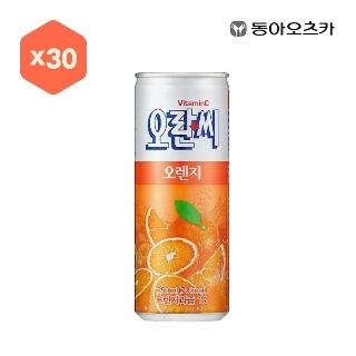 [대용량] 오란씨 오렌지C 250ml X 30입X4박스