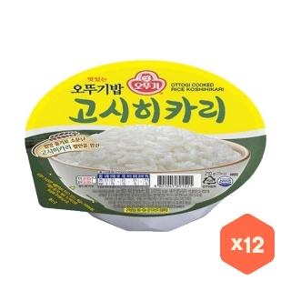 오뚜기밥  고시히카리 210g 12개
