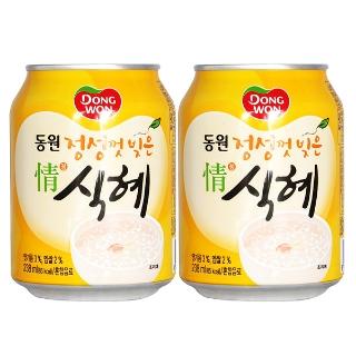 [티몬2020] 무한타임 동원식혜 238ml x 24캔 외 과즙음료 주스 음료
