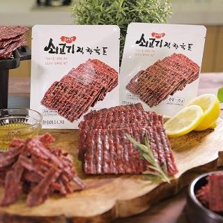 [필수특가] 1+1 구어본 쇠고기 직화육포15g / 10세트 주문시 2봉 더