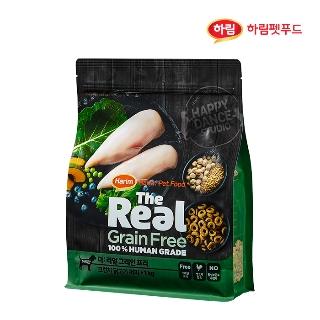 [슈퍼마트] 더리얼 강아지 그레인프리 크런치 닭고기 퍼피 1kg