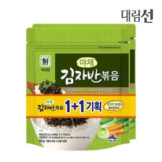 [슈퍼마트]야채김자반볶음(기획)50g*2