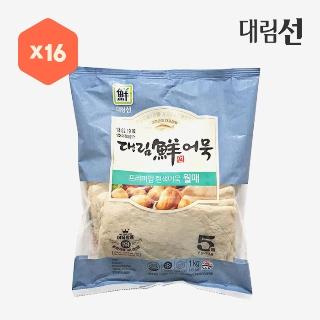 [대용량]대림선어묵 월매 1kg×16입