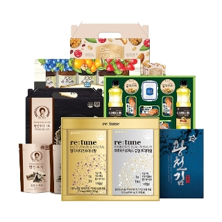 LG생활건강 선물세트 식품모음전+쇼핑백