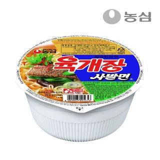 [슈퍼마트] 농심 육개장 사발면 86g*1입
