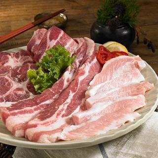 돼지 목전지 500g 네덜란드 제육용 500g - [우리축산] 갓성비 수입 돼지고기 삼겹살 목살 항정살 이베리코 외 12종