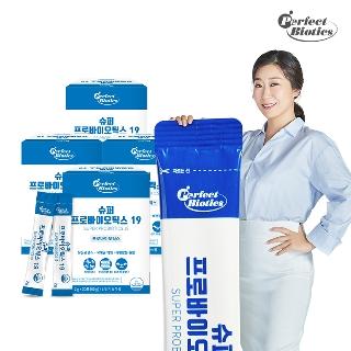 [히트상품] 유산균 1+1+1+1 4박스 4개월분  멀티비타민 크릴오일 등 라미란의 선택 유산균 퍼펙트바이오틱스