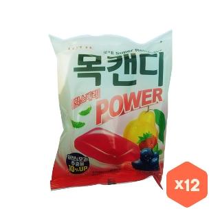 [대용량] 롯데 목캔디 파워믹스베리봉 243gX6입X2박스