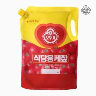 [슈퍼마트]오뚜기 케찹(스파우트) 3.3kg