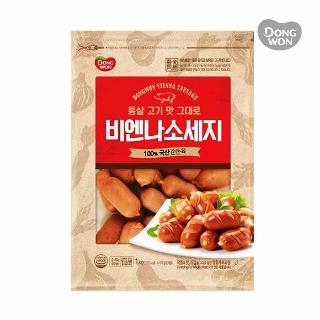 [슈퍼마트] 동원 통살고기맛그대로 비엔나소시지 1kg
