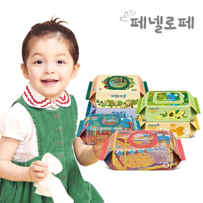 [페넬로페] 아기물티슈 바이탈 특별전