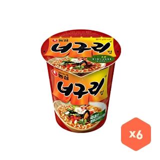 [슈퍼마트]농심 너구리 6입 (소컵)