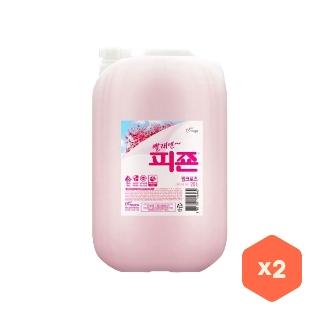 [대용량]피죤 로즈핑크 20kg 1개X2박스