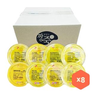 [슈퍼마트] 짱죽 실온이유식 3단계 아기밥세트 (180g*8입)