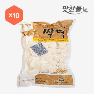 [대용량]맛찬들 쌀떡 1kg×10입