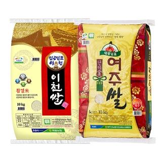 [티몬균일가] 쌀 10kg 모음/이천/여주