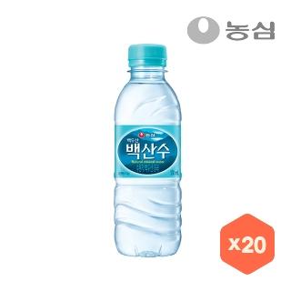 [슈퍼마트][슈퍼예약배송]백산수 330ml x 20병
