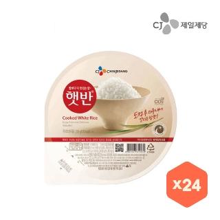 [슈퍼마트] CJ 둥근/사각햇반 210g x 24개